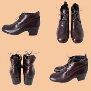 DKNY Italy Leather Booties